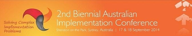 Australian Implementation Conference 2014